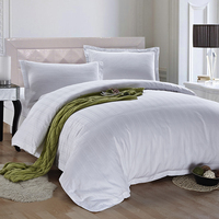 Various Styles 2.5Cm Striped Hotel Bed Linen