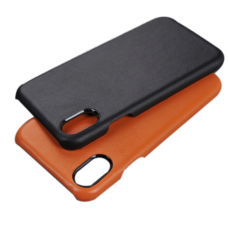 Wholesale best flip leather case for iphone X genuine leather case cover