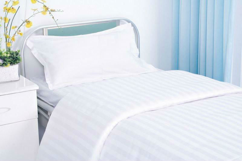 hotel bed sheet fabric /hospital bed sheet