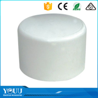 YOUU China Factory Direct Sale 1/2'' PVC End Cap For Plastic Pipe With Smooth Surface