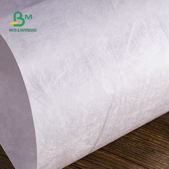 Moisture resistant feature of the Tyvek paper type be made cloth and bag
