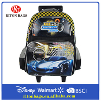 New Car Styling Trolley School bag for Kids