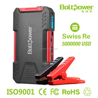 D12 Emergency tool kit car accessories emergency car booster portable 16500mah jump starter