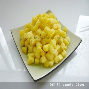 IQF Frozen Pineapple Dices