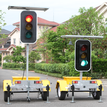 Full Screen High Luminous Power LED Stop Signals IP65 RYG Traffic Light