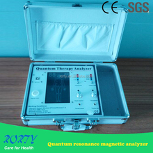 The 4th quantum resonance magnetic analyzer with low-frequency therapy function