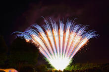 spring ballet Chinese pyro display show wedding cake fireworks for sale