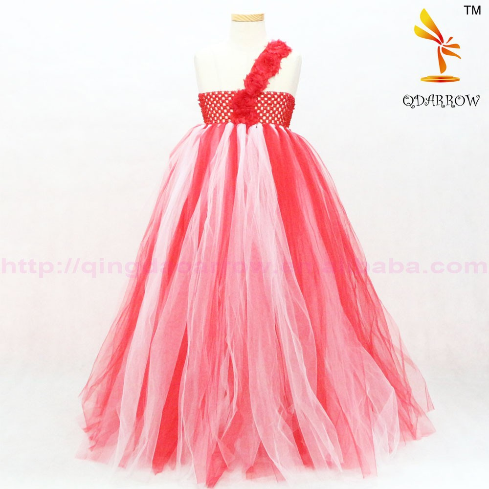 New Fashion Wedding Dress Sleeveless Red Dress For Evening Party