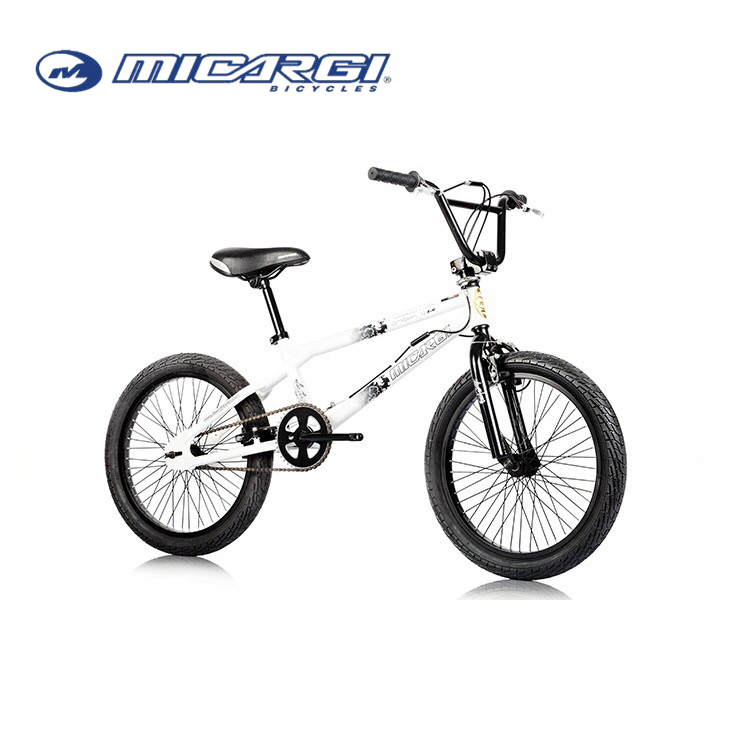 Micargi 20inch Freestyle bike WHITE COLOR BMX