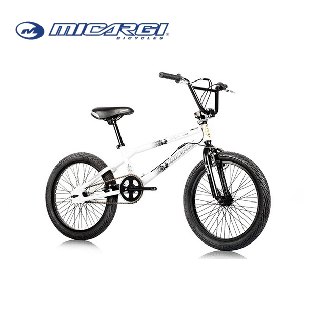 Micargi 20inch Freestyle bike WHITE COLOR BMX