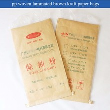 25KG kraft paper and plastic compound packaging bag for chemical product