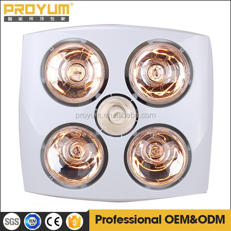 Badkamer verwarming lampen voor douche ventilator licht met verschillende modellen elektrische - Badkamer modellen met italiaanse douche ...