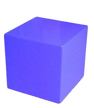 24'' Lighted Glow Cube