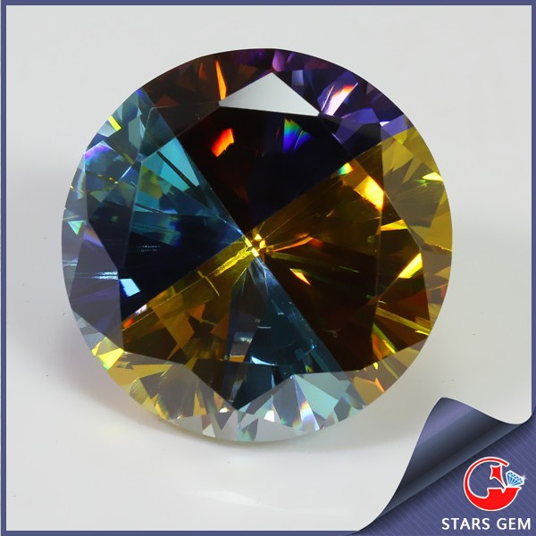 Best Quality Multicolor Spell color CZ Diamond Stone