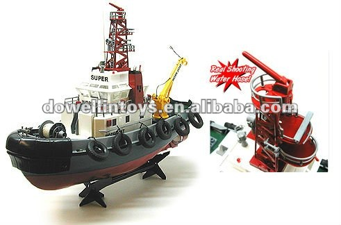 HOT!!!RTR Seaport Tug Boat RC Work Boats 1/10th Scale