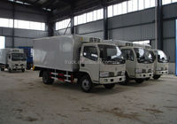 factory price,refrigerated cold room van truck,refrigerated small trucks