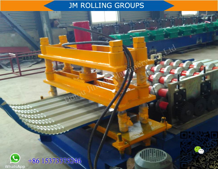 Automatic Metal Roof Sheet Crimping Machine For Sale