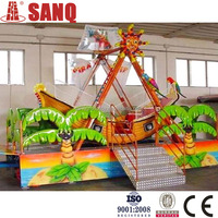 Beautiful design theme park rides playgrounds swing boat for sale