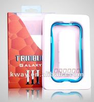 Metal Aluminium Alloy Curve Bumper Case For Samsung Galaxy S3 III i9300 KSL243