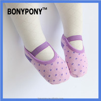 Bonypony free shipping baby toddler kids children ballet socks Anti-slip Walking toddler yoga Socks Children Socks