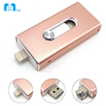 Zyiming Alibaba wholesale swivel otg USB 3.0 flash drive, android mobile phones and cumputer dual usb flash for iphone use