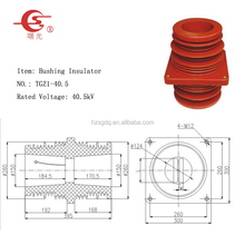 Epoxy Resin Bushing Shielding Wall Through Bushing(CHZ304G-40.5)