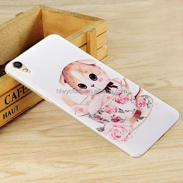 3D Relief Painting Mobile Phone Case For OPPO R9 Cell Phone