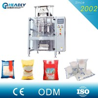 Four Side Sealing Cornstarch Powder Sachet Pouch Filling Packaging Machine