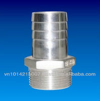 Stainless Steel Hose Nipple - Hydraulic, Pneumatic, Sanitary, Mechanical