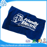 China Wholesale 100% cotton logo printed rally towels