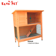 Widely used manufacturer wooden rabbit pet display cage