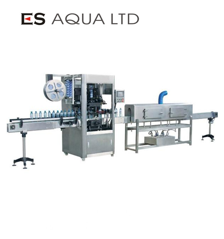Automatic PVC/PET/PP/OPS shrink sleeve labeling machine