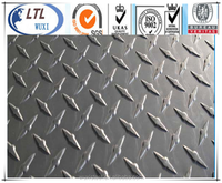 Widely used 304 material stainless steel checkered plate