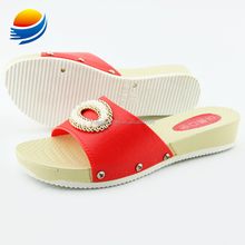 Summer Beautiful Girl and Lady Big Size High Heel Platform Slipper 1J418+5W