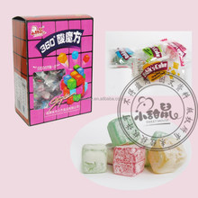 Funny Sour Rubik's Cube Mixed Taste Super Acid Soft Candy