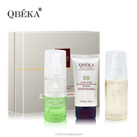 QBEKA ferment polypeptide fading serum skin whitening facial kit natural facial kits