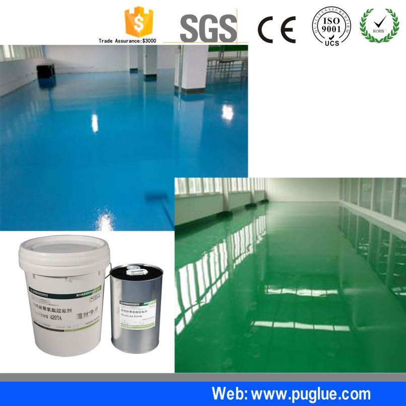 good storage stability color speed zone pavement glue for pvc sheet road salt
