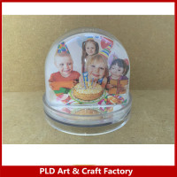 Cheapest Photo Insert Snow Globe , Photo Frame , Birthday Gift Snow Globe