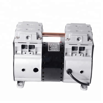 L 204*W 112 mm Installation Dimension Oil Free Piston Vacuum Pump