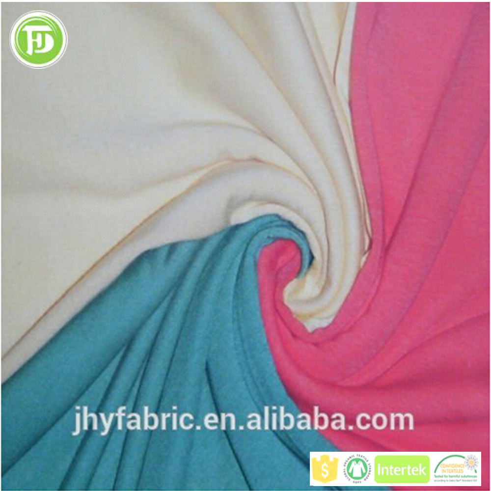 New product bamboo spandex knit fabric natural fiber healthy fabric