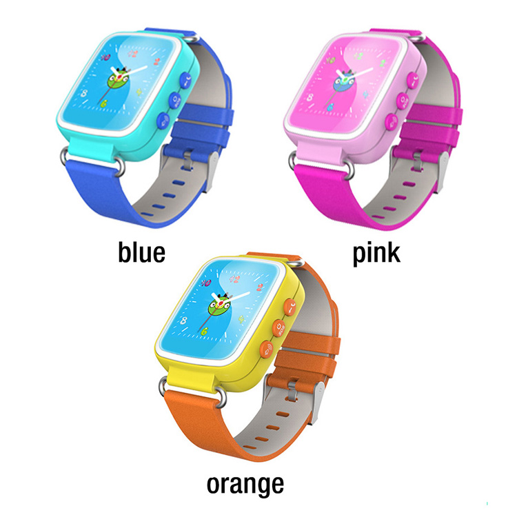 waterproof popular GPS tracker LBS SOS cell Phone calls kids smart watch for baby children kid and children