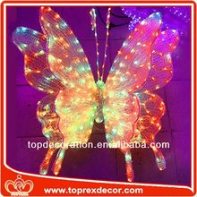 3D LED Butterfly lowes christmas inflatable decoration