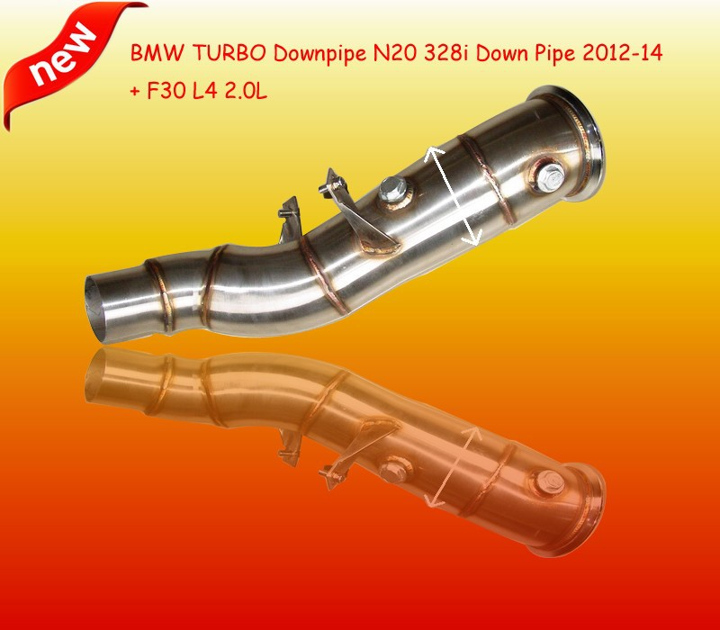 TURBO Downpipe For BM*W N20 328i Down Pipe 2012-2014 + F30 L4 2.0L(Fits:B*MW N20 328i)