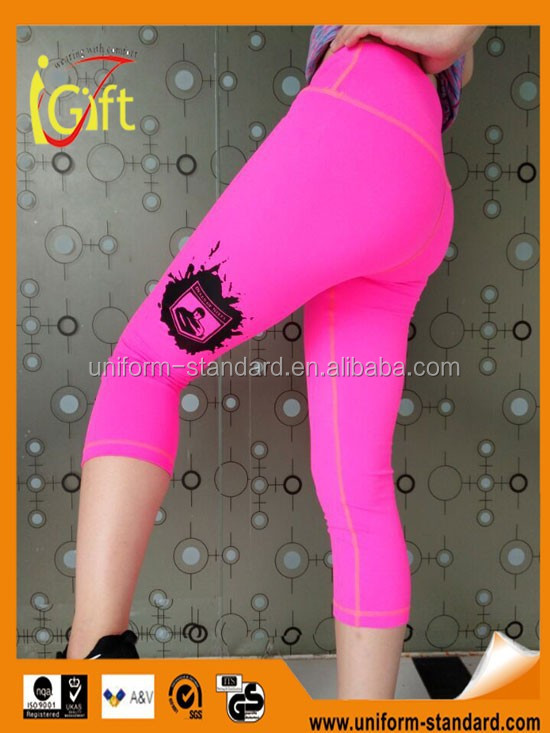 wholesale Nylon spandex custom sports clothings cheap athletic lady sex active sportswear