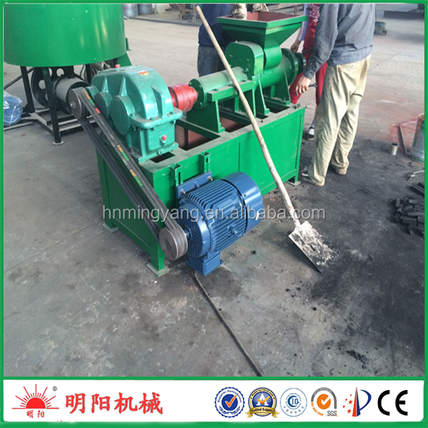 Fast Delivery charcoal powder coal dust briquette extrudering machine for sale