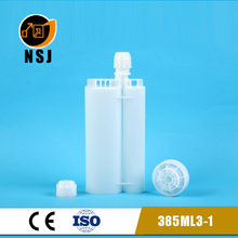 385ml 3:1 empty silicone sealant cartridge for glue stick container