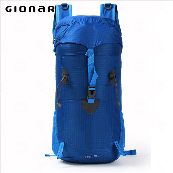 Stylish 25L Waterproof Nylon Folding Most Durable Double Strap Hidden Compartment Backpack
