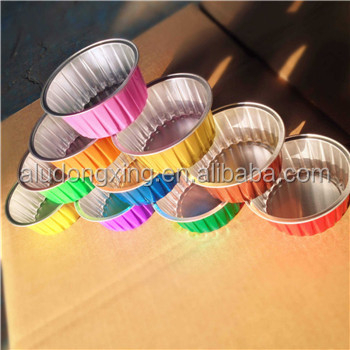 Color coated aluminum foil box