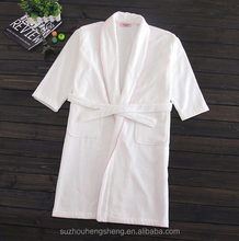 unisex cutted towel cotton hotel bathrobe robe