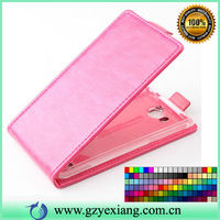 2014 China Phone Case Magnetic flip leather cover for Lenovo A208T